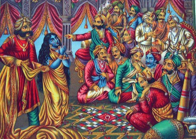 Image result for pandavas playing pagade
